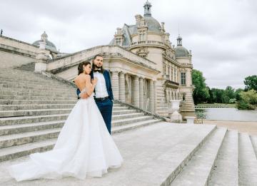 Princess Wedding Inspiration from France – Chateau Chantilly – Elizaveta Photography 5