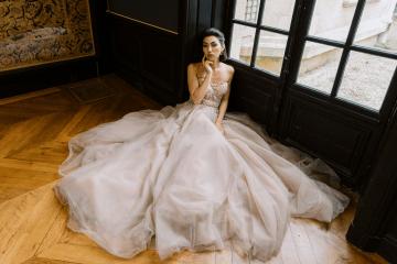 Princess Wedding Inspiration from France – Chateau Chantilly – Elizaveta Photography 8