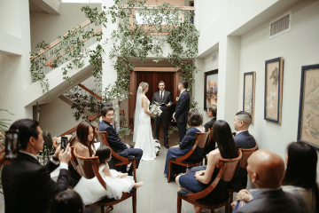 Stunning Intimate Elopement at Home – Gipe Photography 14