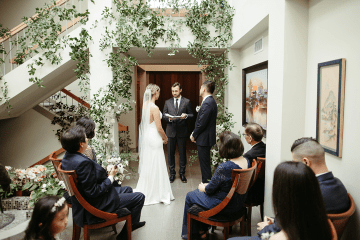 Stunning Intimate Elopement at Home – Gipe Photography 17