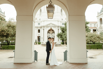 Stunning Intimate Elopement at Home – Gipe Photography 3