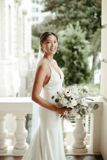 Stunning Intimate Elopement at Home – Gipe Photography 35