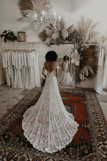 Dreamers and Lovers New Bohemian Wedding Dresses and LA Flagship Bridal Salon – Bridal Musings – Ruth Boho Wedding Dress 1
