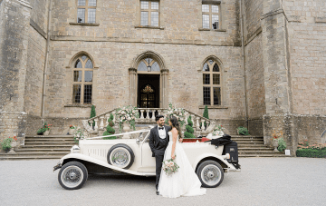 English Fairytale Wedding Inspiration At Clearwell Castle