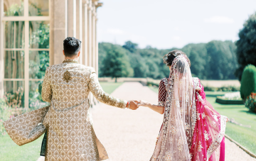 Breathtaking Indian Royal Wedding Inspiration At Prestwold Hall