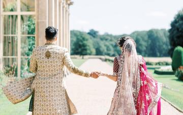 Breathtaking Indian Royal Wedding Inspiration At Prestwold Hall