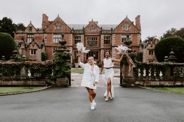 Gender Fluid Wedding Inspiration at Dorfold Hall – Phoebe Jane Photography 8