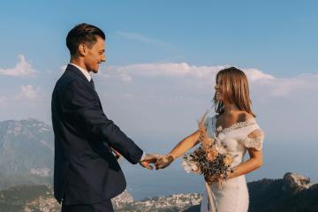 Intimate Cliffside Ravello Italy Microwedding – Enrico Capuano Photographer 12