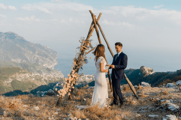 Intimate Cliffside Ravello Italy Microwedding – Enrico Capuano Photographer 16