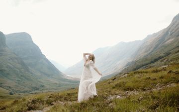 Scottish Highlands Wedding Inspiration For Nature-Loving Brides