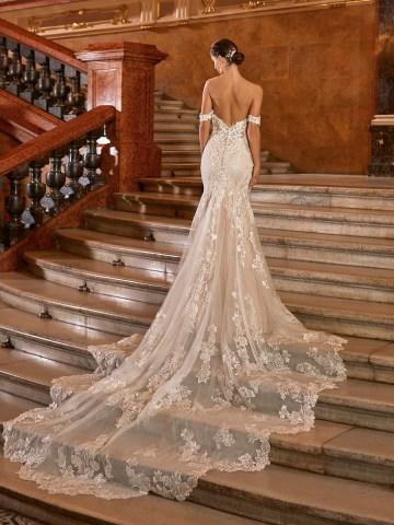 Extravagant Wedding Dresses for 2021 2022 – Val Stefani – Bridal Musings – D8272 B