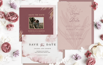 Why These Save The Dates Are More Special Than The Rest…