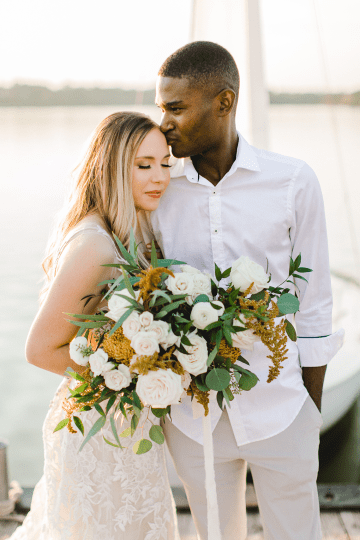 Simple Romantic Sunset Sailboat Elopement Inspiration – Lyndi Ruth Photography 11