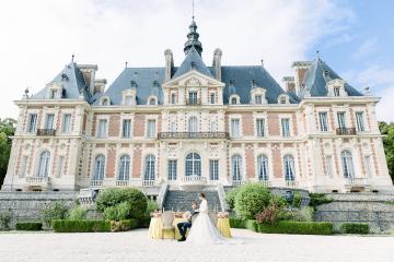 Spring Pink Royal Wedding Inspiration at Chateau de Baronville – Daria Lorman Photography 2