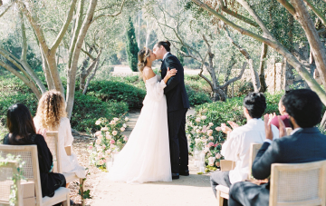 This Ethereal Garden Vow Renewal Is Lavish Enough For A Wedding