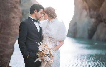 Nature Meets Glam In This Burgh Island Art Deco Wedding Inspiration