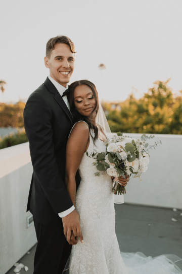 Modern Hollywood Rooftop Elopement During COVID-19 – Julia Green Photography 37