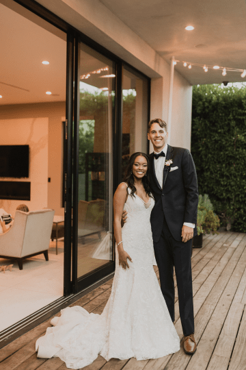 Modern Hollywood Rooftop Elopement During COVID-19 – Julia Green Photography 45