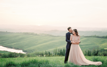 An Effortlessly Romantic Tuscan Destination Wedding