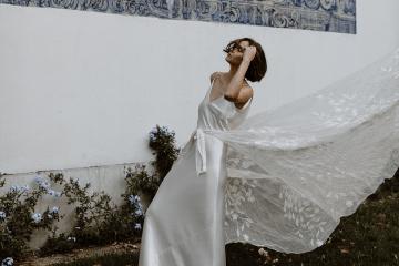 Romantic and Chic Portuguese Bridal Editorial – Couplet – A La Robe Bridal 2