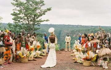 8 Stunning Wedding Dress Styles From Across Africa