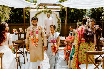 Intimate Backyard Indian Wedding – Carmelisse Photography – Leilani Weddings 20