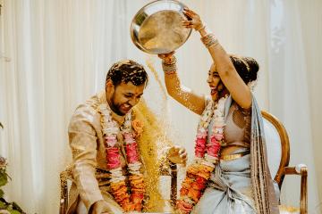 Intimate Backyard Indian Wedding – Carmelisse Photography – Leilani Weddings 3