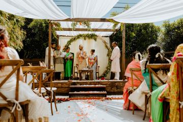 Intimate Backyard Indian Wedding – Carmelisse Photography – Leilani Weddings 7