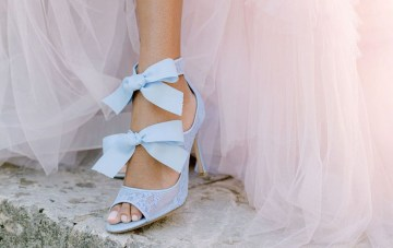 22 Blue Bridal Shoes We Love For Your 'Something Blue'