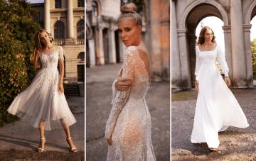 Ultra-Stylish New Wedding Dresses By Mila Bridal (For Under $1,000!)