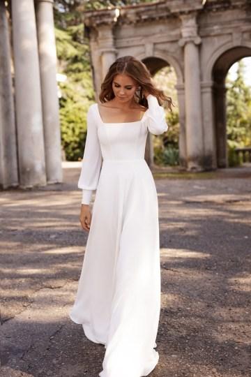 Ultra-Stylish New Wedding Dresses By Mila Bridal (For Under 1000) – Bella Dress – Bridal Musings 7
