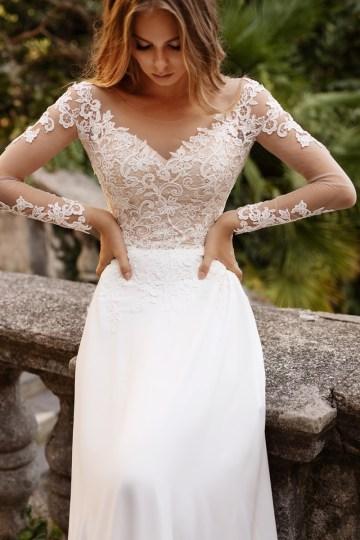 Ultra-Stylish New Wedding Dresses By Mila Bridal (For Under 1000) – Bonita Dress – Bridal Musings 3