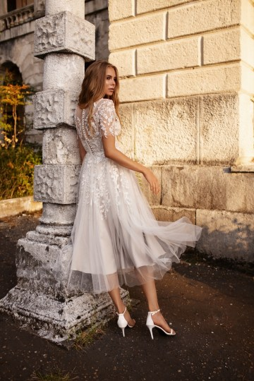 Ultra-Stylish New Wedding Dresses By Mila Bridal (For Under 1000) – Goldie Dress – Bridal Musings 5