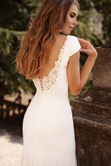 Ultra-Stylish New Wedding Dresses By Mila Bridal (For Under 1000) – Jenny Dress – Bridal Musings 4