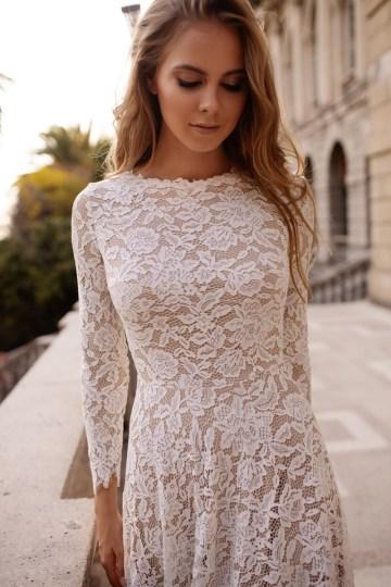 Ultra-Stylish New Wedding Dresses By Mila Bridal (For Under 1000) – Orla Dress – Bridal Musings 5