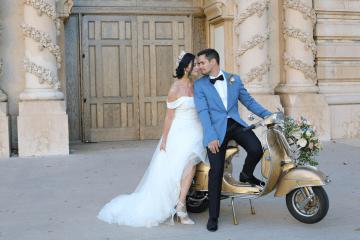 Fancy Southern Wedding Inspiration at Balboa Park in San Diego – iamlatreuo Photo 4