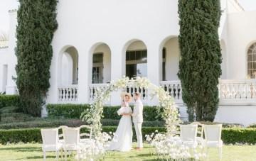 Afternoon Tea Wedding Inspiration Fit For Kensington Gardens