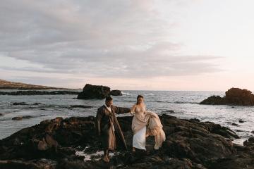 Korean Hawaiian Elopement with a Traditional Ceremony – Alyssa Luzaich Photography – Kukio Beach – Bridal Musings 12