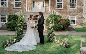 Willowbank Mansion Gives Canadian Couples A Chance For A Local 'Destination Wedding'