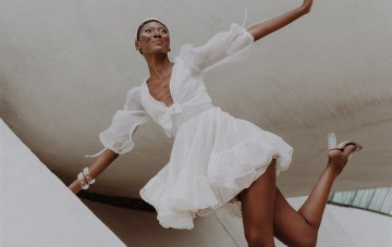 Statement Minis: The Best Short Wedding Dresses From 2022 Bridal Fashion Week
