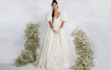 Trend Alert: Opulent Fabrics & Royal-Inspired Wedding Dresses Are Here