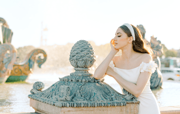 Tips For Pulling Off An Old-World Glam Bridal Look From The Streets Of Paris