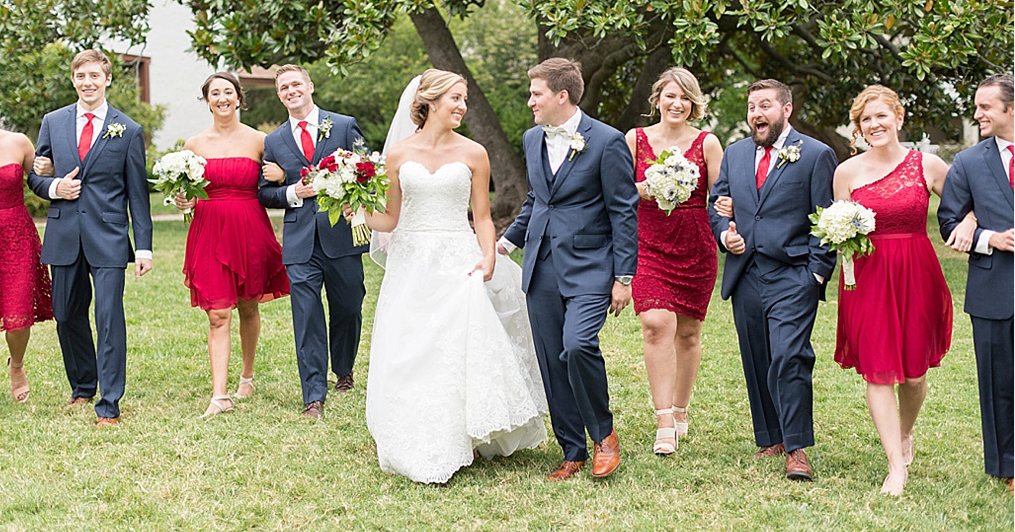 10 Red, White And Blue Wedding Ideas On Instagram