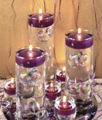 Low Cost Wedding Centerpiece Ideas Bliss Baby Kiss Along With Candle Decorations Images Center