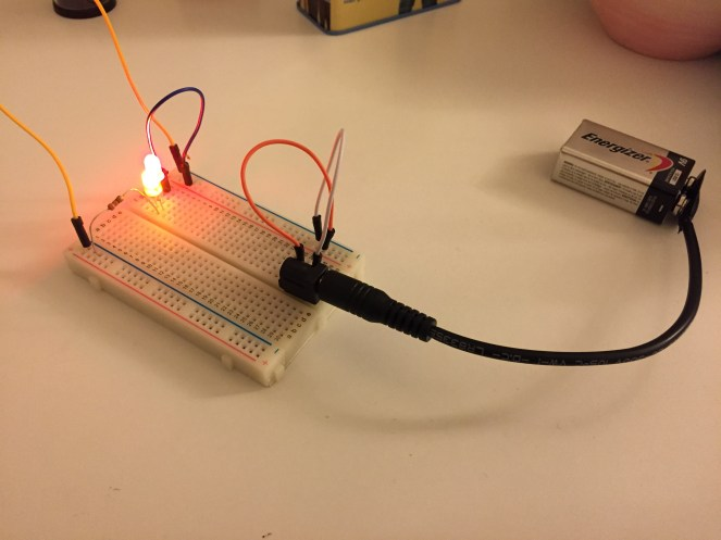 my first series circuit