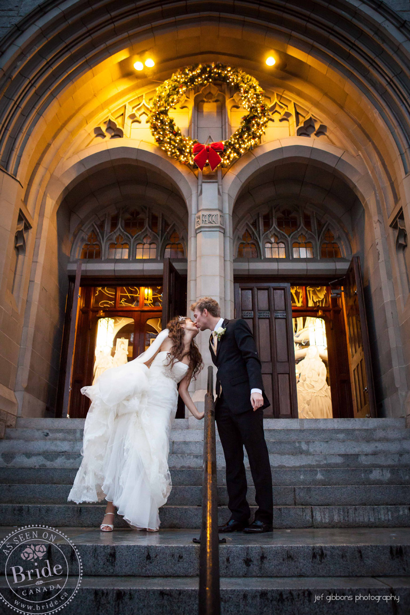 Bride Ca Leah Rose Amp Brendan At Sutton Place A Real Winter Wedding Vancouver Style