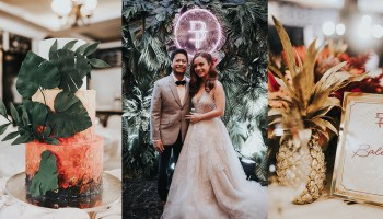b683e0881a A Fun and Colorful Tropical Wedding in Balesin