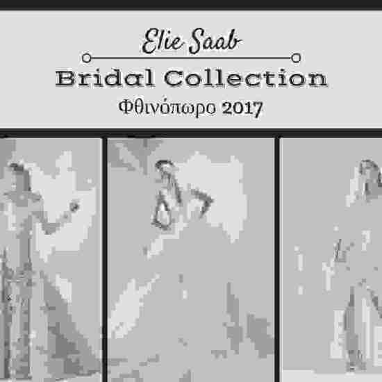 Elie Saab Bridal Collection Φθινόπωρο 2017 | bridediaries.com