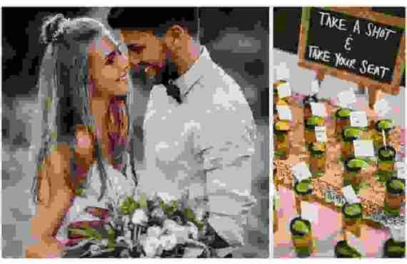 9 Διασκεδαστικές Ιδέες για τη Διακόσμηση του Γαμήλιου Τραπεζιού και…
