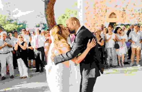Φθινοπωρινός Ρομαντικός Γάμος στη Λάρνακα